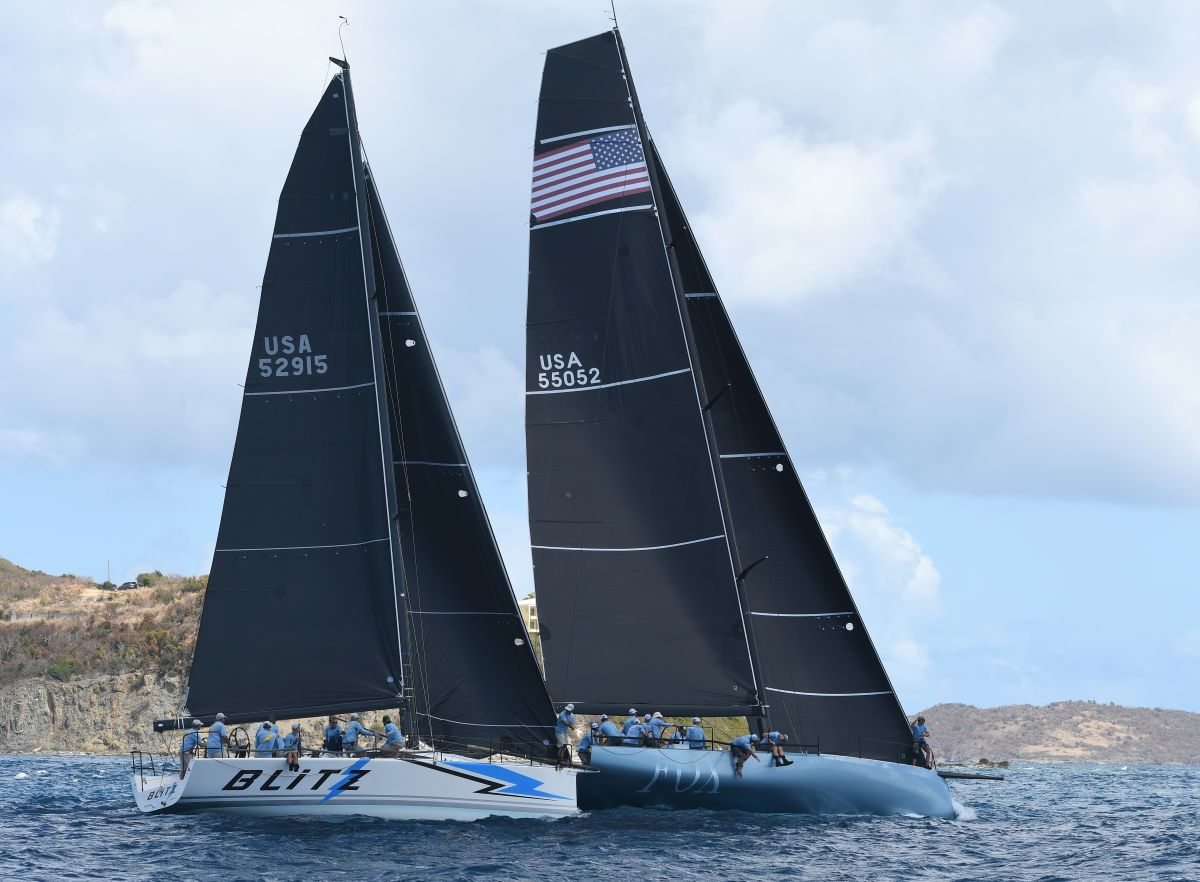 FOX, Wild T'ing Win Classes in Round the Rocks Race, 2021 St. Thomas International Regatta Starts Friday