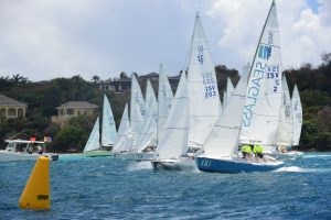 FOX, Wild T'ing, Orion Lead Classes in Perfect Conditions on First Day of 2021 St. Thomas International Regatta