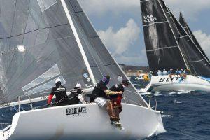 Melges 24 Brew2 Sailing Upwind