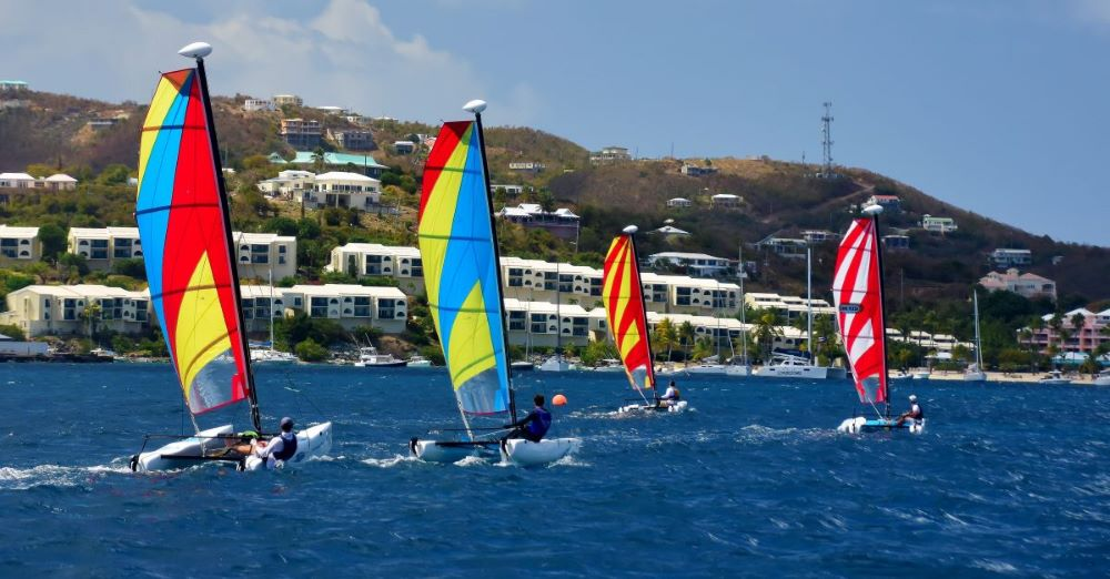 Leads Lengthened, Leads Lost, Leads Landed on Second Day of 2021 St. Thomas International Regatta